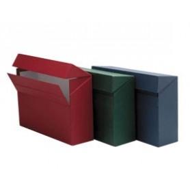 Caja de transferencia verde doble Folio