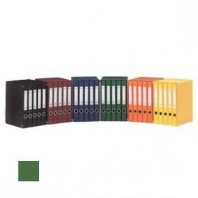 Módulo cinco archivadores verde