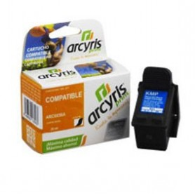 Cartucho compatible Arcyris HP 301XL negro