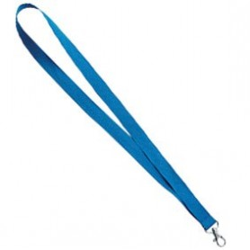Cordón Lanyard Azul