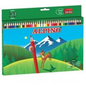 Estuche pinturas Alpino 30 colores