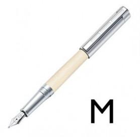 Pluma Estilográfica Initium Corium Piel beige M