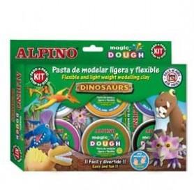Alpino Magic Dough Dinosaurios
