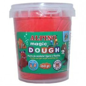 Alpino Magic Dough Rojo 160 grs.