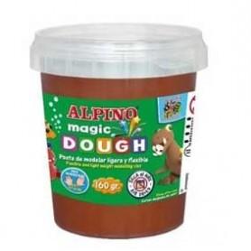 Alpino Magic Dough Marrón 160 grs.