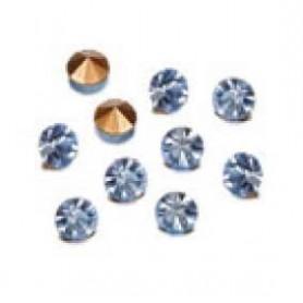 Decoré piedras de strás 1,7 mm light sapphire