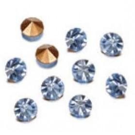Decoré piedras de strás 2,3 mm light sapphire
