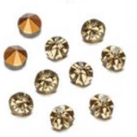 Decoré piedras de strás 2,3 mm Black diamond