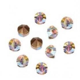 Decoré piedras de strás 3 mm Crystal AB