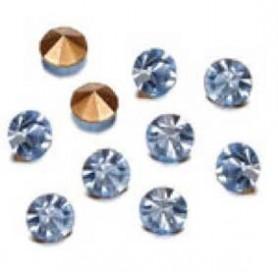 Decoré piedras de strás 3 mm light sapphire