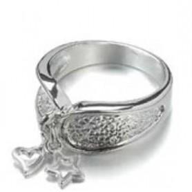 Decoré anillo Con 2 colgantes 19 gr