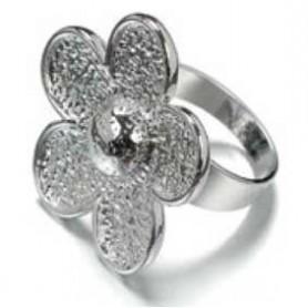 Decoré anillo Flor regulable