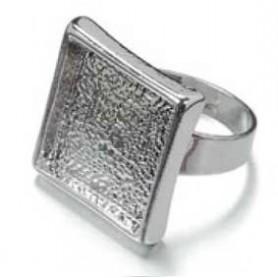 Decoré anillo Cuadrado regulable