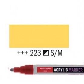 Rotulador Acrílico Amsterdam punta M Amarillo Nápoles oscuro