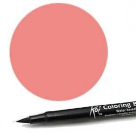 Rotulador punta pincel Koi Sakura Rosa Salmón