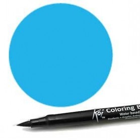 Rotulador punta pincel Koi Sakura Azul Cielo