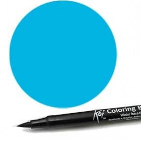 Rotulador punta pincel Koi Sakura Azul Agua