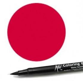 Rotulador punta pincel Koi Sakura Bermellón