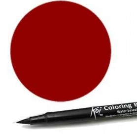 Rotulador punta pincel Koi Sakura Borgoña