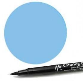 Rotulador punta pincel Koi Sakura Azul Acero