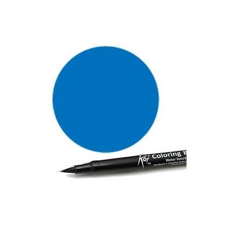 Rotulador punta pincel Koi Sakura Azul ceruleo