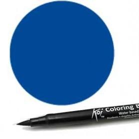 Rotulador punta pincel Koi Sakura Azul