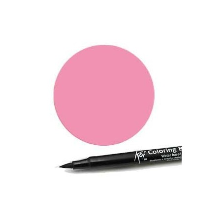 Rotulador punta pincel Koi Sakura Rosa Magenta