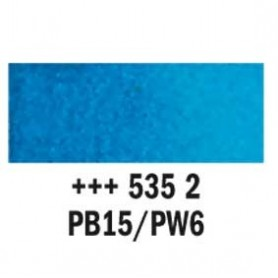 Acuarela Rembrandt 535 Azul ceruleo ftalo 20 ml