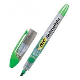 Rotuladores Bic Technolight verde