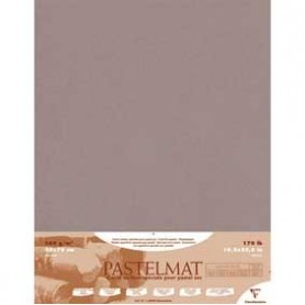 Hoja Pastelmat 100x70 cm Gris oscuro
