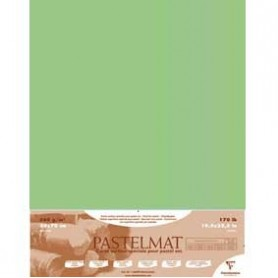 Hoja Pastelmat 100x70 cm Verde claro