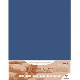 Hoja Pastelmat 50x70 cm Azul Oscuro