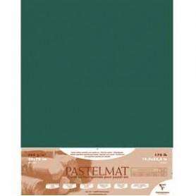 Hoja Pastelmat 50x70 cm Verde Oscuro