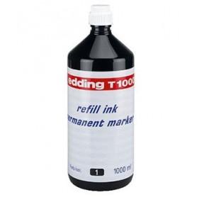 Tinta Edding T-1000 1 litro negro