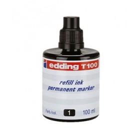 Tinta Edding T-100 100 ml negro