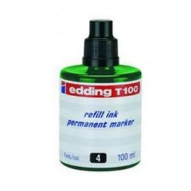 Tinta Edding T-100 100 ml verde
