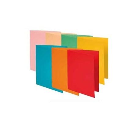 Pack 100 subcarpetas A4 Colores surtidos