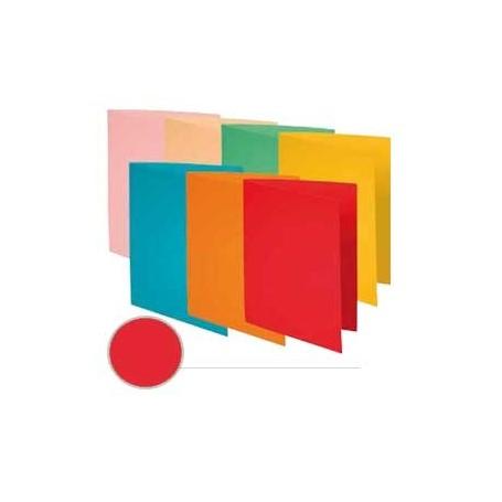 Pack 100 subcarpetas A4 Rojo