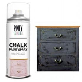 Spray Pintura Chalky Negro plomo