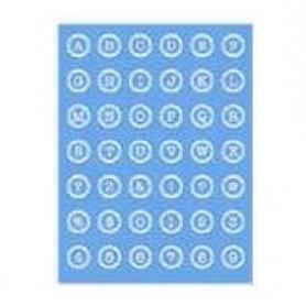 Plantilla Stencil 15x 20 cms Alfabeto/números