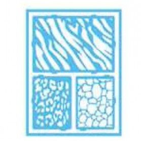 Plantilla Stencil adhesiva 15x20 cm Safari