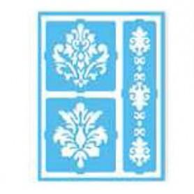 Plantilla Stencil adhesiva 15x20 cm Acanto