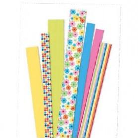Tiras de papel Flower Garden yellow