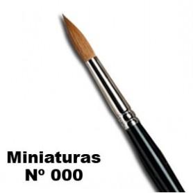 Pincel W&N serie 7 miniaturas Nº 000