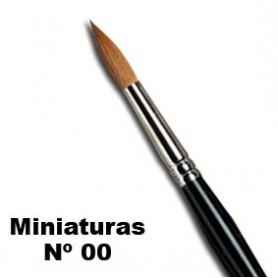 Pincel W&N serie 7 miniaturas Nº 00