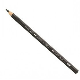Grafito acuarelable Faber-Castell 6B