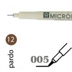 Rotulador Pigma Micron 005 marrón
