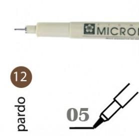 Rotulador Pigma Micron 05 Marrón