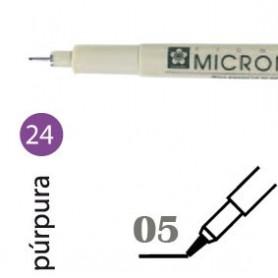 Rotulador Pigma Micron 05 Púrpura