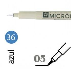 Rotulador Pigma Micron 05 Azul